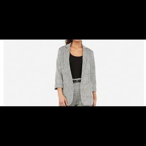 New express textured knit Boyfriend blazer